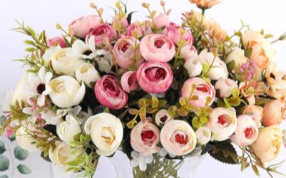 Искусственные цветы и и компоненты для композиций