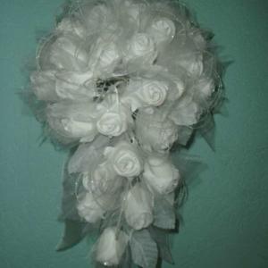 Букет невесты из роз 50 голов