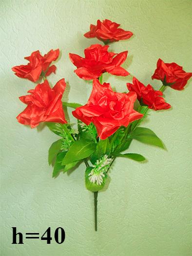 Роза с водорослями 7 голов (уп. 2 шт.)